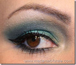 glamour doll eye's EOTD