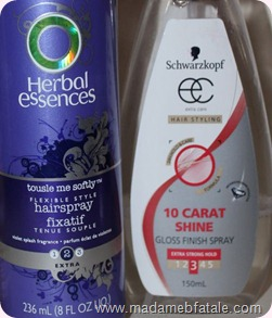 Herbal Essences tousel me softly schwarzkopf 10 carat shine