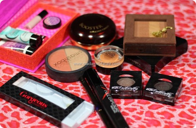 products used for smoky smokey eye