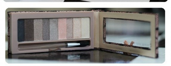Shimmer Strips Custom eye enhancing shadow and liner smoky nude