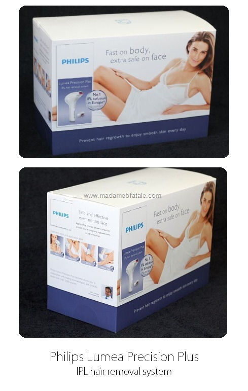 philips lumea precision plus packaging