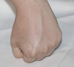 left hand after PMD