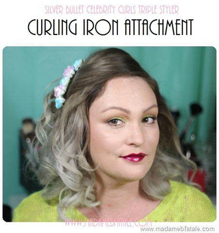 silver bullet curling iron